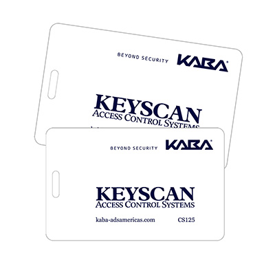 Keyscan CS125-26 125 kHz clamshell prox card - 26 bit