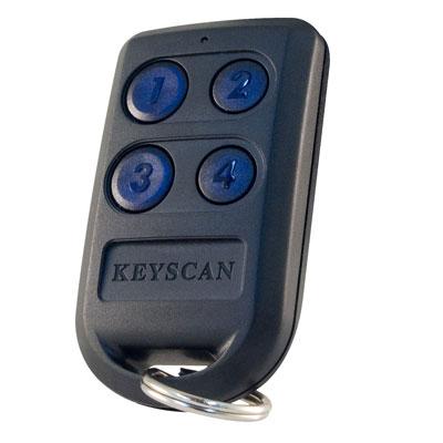 Keyscan K-INTX2 4 button RF transmitter C/W INDALA chip