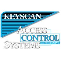 Keyscan P2031KB self-powered electronic pushbutton lock
