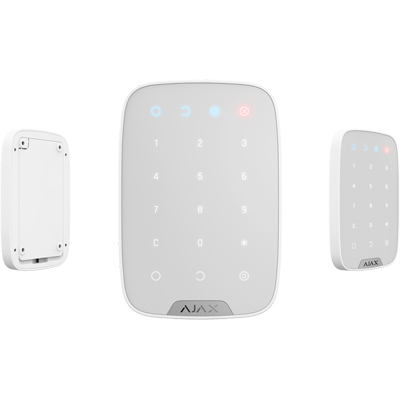 Ajax KeyPad - Wireless Touch Keypad Used For Arming/disarming Of Ajax Security System