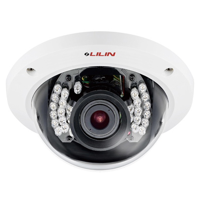 LILIN LR2322EX3.6 2MP day/night HD IR IP dome camera