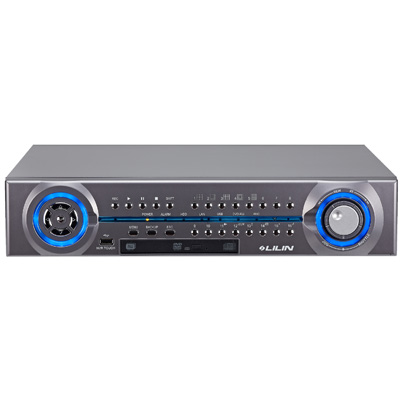 LILIN NVR-116D-12TB 1080P real-time milti-touch 16 channel standalone NVR