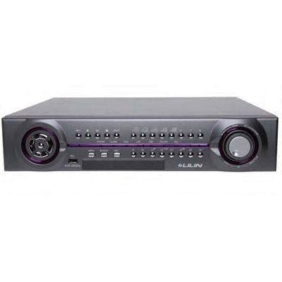 LILIN NVR-116D-2TB 1080P Real-time Multi -touch 16 Channel Standalone NVR