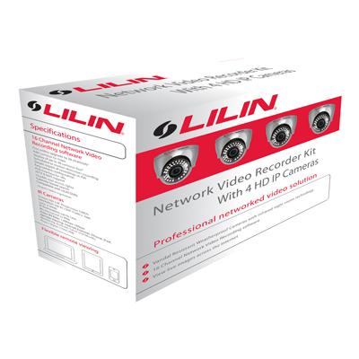 LILIN NVR-KIT312 vari-focal external day / night IP camera kit