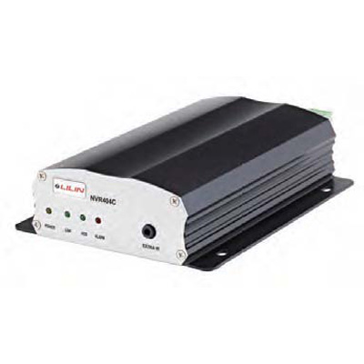 LILIN NVR404C 1080P real-time multi-touch portable 4 channel standalone NVR