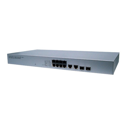 LILIN PMH-POE08260W 8 Ports PoE+ fast ethernet switch