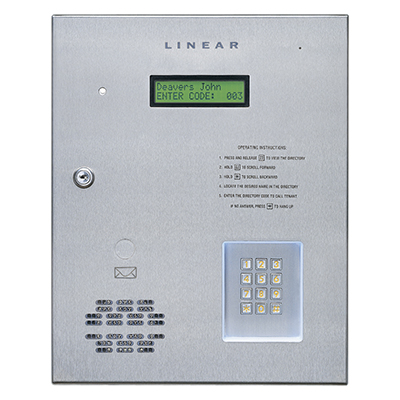 Intercom System Specifications Linear Intercom System