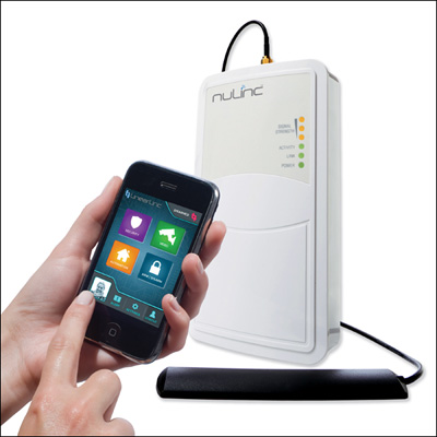 Get Control on the Go with the nuLinc Cellular Communicator and LinearLinc Mobile App