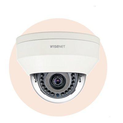Hanwha Techwin America LNV-6020R 2M Vandal-Resistant Network IR Dome Camera