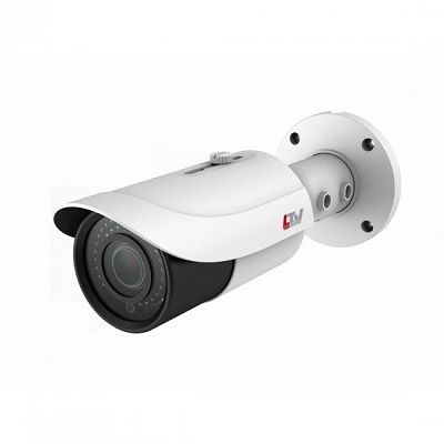 LTV Europe CNE-641 48 IR outdoor bullet camera with vario lens