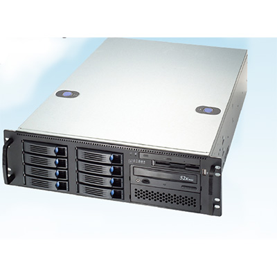 Luxriot LR1-4U-IPSVR1-80TB RAID-6 network video server