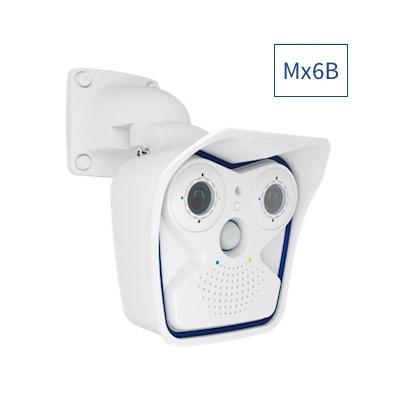 MOBOTIX Mx-M16B-6D6N036 M16B Complete Cam 6MP, 2x B036 (Day & Night)