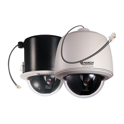 March Networks MegaPX IP PTZ Dome (Outdoor pendant) HD camera for large area security monitoring