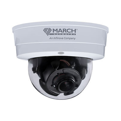 March Networks MegaPX WDR MiniDome Z2 fixed indoor IP camera