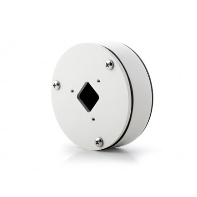 Arecont Vision MCB-JBA-W Round Junction Box for Contera™ Micro Bullet IP Megapixel Cameras