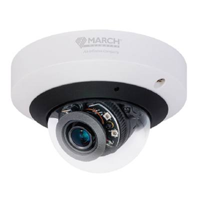 March Networks Mobile ME4 IR MicDome with 4MP resolution