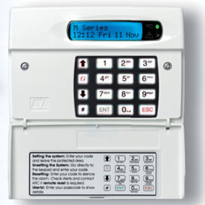 Menvier Security Ts690idm Control Panel For Intruder