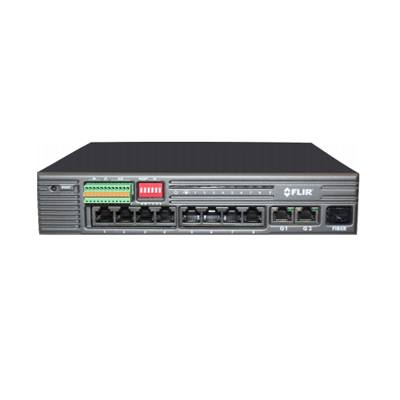 FLIR Systems SW08PE POE Managed Switch 8 ports