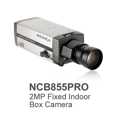 MESSOA releases fixed network camera with full HD 1080p for indoor surveillance
