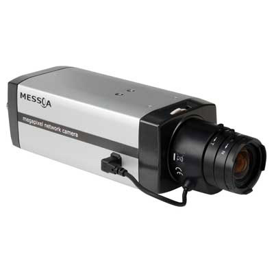 MESSOA introduces day / night megapixel network camera featuring a mechanical ICR filter function