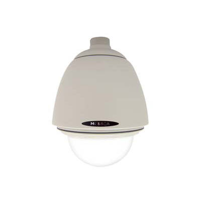 Messoa SAD711 vandal proof dome enclosure with heater and blower