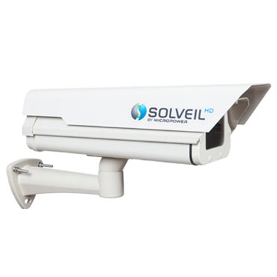 MicroPower Technologies SOLVEIL Surveillance Platform 720p megapixel resolution