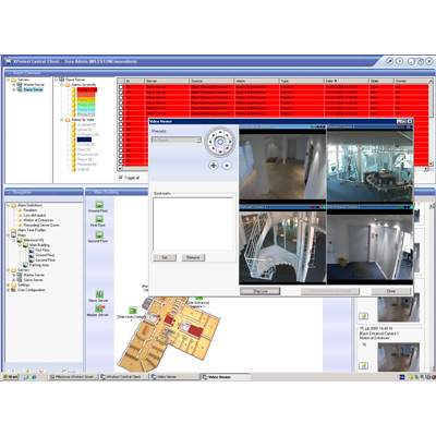 Optimise operations of surveillance system components with Milestone XProtect Central 3.7