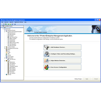 XProtect Enterprise 7.0 is feature-rich IP video software with ultimate usability