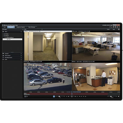 Milestone XProtect Essential 2.1 Video Surveillance Software