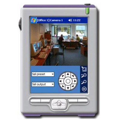 Milestone XProtect PDA Client enables remote access