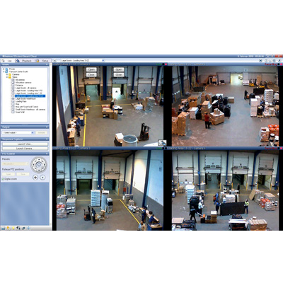 Milestone XProtect Smart Client 5.0 CCTV software with independent playback function