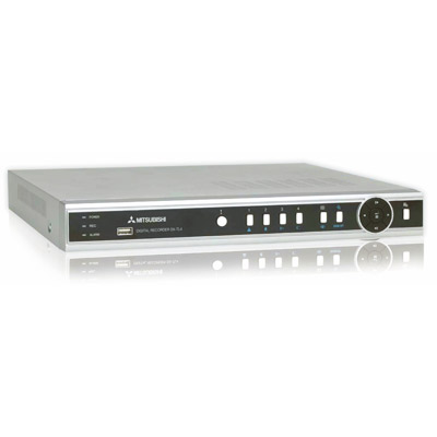 Mitsubishi Electric's new 4 channel digital recorder - the DX-TL4E