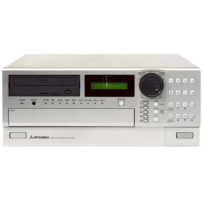 Mitsubishi Electric's DVR range includes the DX-TL4E, DX-TL4509E, DX-TL4516E and the DX-TL5000E