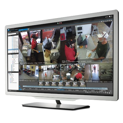 March Networks Command Professional VMS solution supporting up to 128 video channels