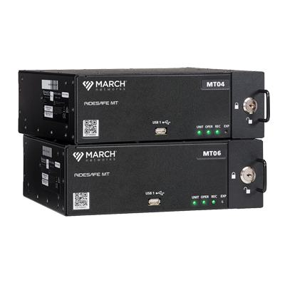 March Networks RideSafe MT Series IP Recorders