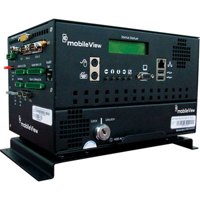 MobileView MVP-4500-08-00 8 channel digital video recorder