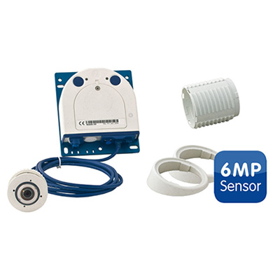 MOBOTIX MX-S15D-Set1-6MP FlexMount Core 6MP sensor
