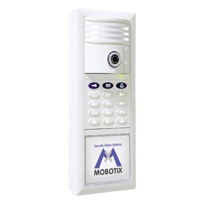 MOBOTIX presents the T24 Hemispheric IP Video Door Station