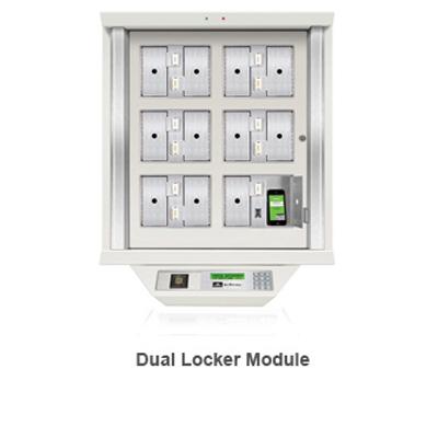 Morse Watchmans Dual Locker Module SmartKey locker 6 module system