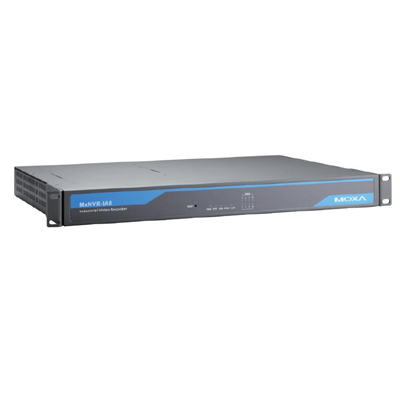MOXA MxcNVR-IA8 8-channel industrial network video recorder for harsh environments