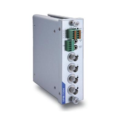 MOXA VPM-7304 4-port MPEG4/MJPEG video encoder module for the VPort 700 series