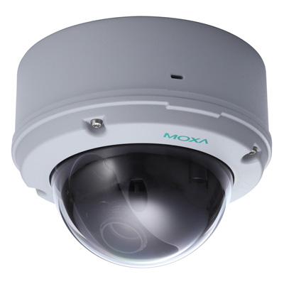 MOXA VPort 26 IP66 day/night fixed dome IP camera for outdoor use
