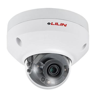 LILIN MR6342A Outdoor HD 30M IR Range Fixed Dome IP Camera