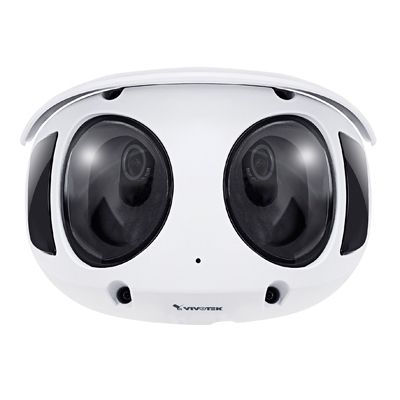 Smarter ways with VIVOTEK 8MP 180° panoramic camera, MS9390-HV