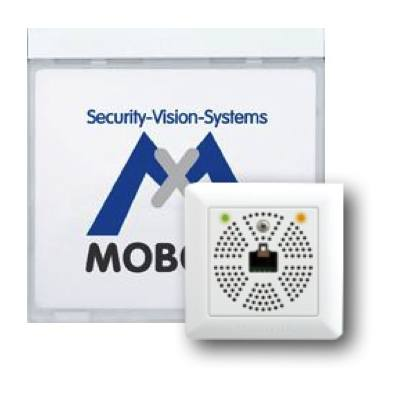 MOBOTIX MX-2wirePlus-Info1-EXT-PW Info Module Mx2wire+ With LEDs, White