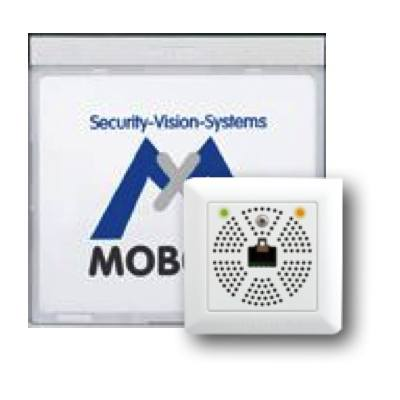 MOBOTIX MX-2wirePlus-Info1-EXT-SV Info Module Mx2wire+ With LEDs, Silver
