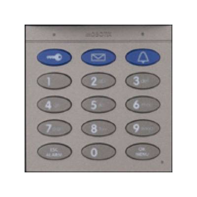 MOBOTIX Mx-A-KEYC-d Keypad With RFID Technology For T26, Dark Gray