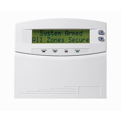 NetworX NX-148E-RF 48 zone LCD display keypad with door and integrated wireless receiver