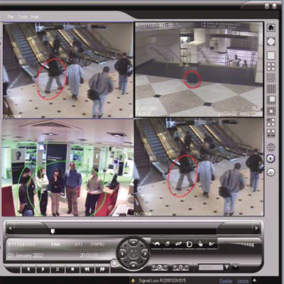 NICE People Counting / Line Control CCTV software