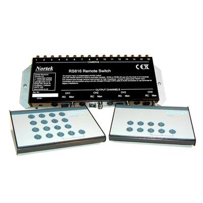 Nortek RS816 16 x 4 remote SEQ switcher box
